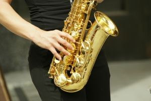 Musicians therapy saxaphone